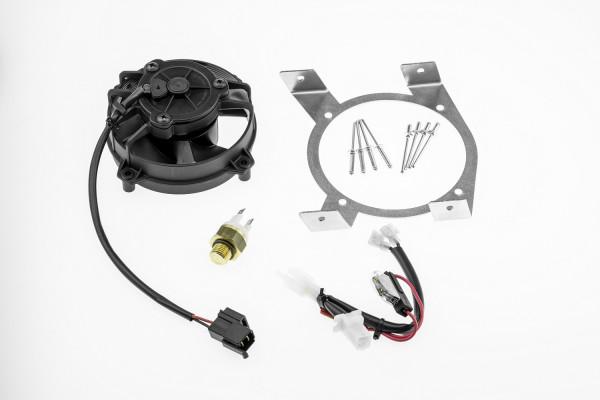 BETA Lüfter Set inklusive Halter und Thermostat SPAL