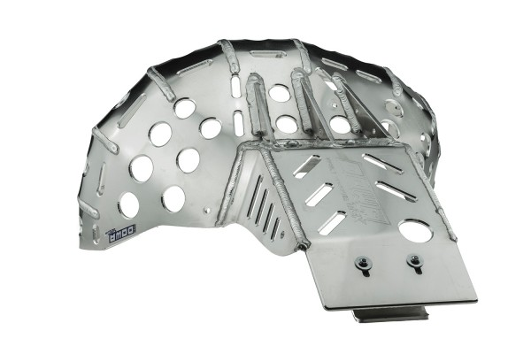 Skid Plate with Pipe Guard (KTM 2020-2021)