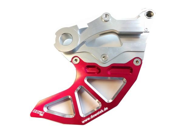 Bremsscheibenschutz hinten Rot/Silber (Beta)