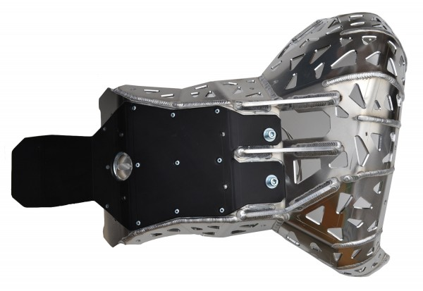 Premium Skid Plate with Pipe Guard and Link Guard (200 RR Beta)
