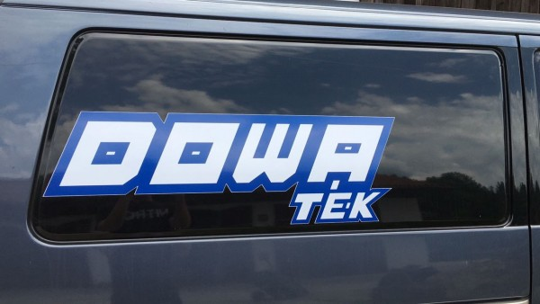 Big DOWATEK Sticker for Transporter or Trailer 90x25cm
