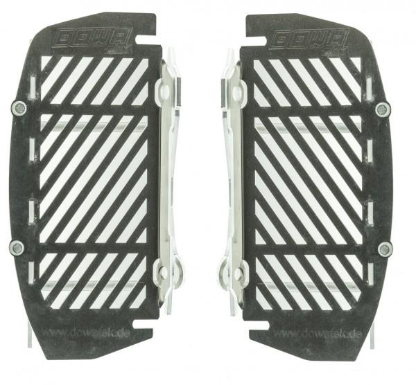 Kühlerschutz mit Gitter und Lüfteraufnahme (2017- KTM/Husqvarna)